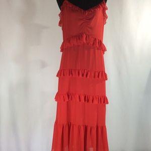 Michael Kors Scarlet Sleeveless Dress Large